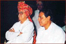 Mr. Advani at Rajwadu