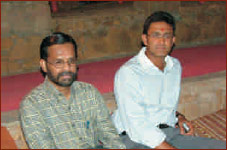 Mr. Anil Kumble at Rajwadu