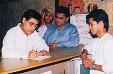Mr. Jagjit Sinh at Rajwadu