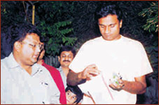 Mr. Javagal Srinath at Rajwadu