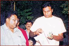 Mr. Javagal Srinath at Rajwadu
