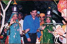 Mr. Sanjeev Kapoor at Rajwadu